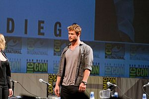 Chris Hemsworth at 2010 Comic-Con International