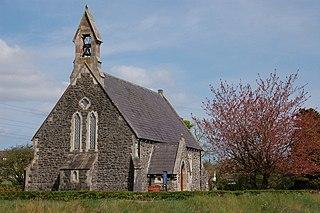 Ballynure village in the United Kingdom