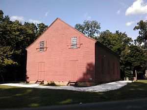 Old Christ Church (Laurel, Delaware) - Old Christ Church, near Chipman's Mill (of which only the dam remains)