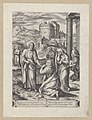 Christ and the woman at Bethany 1576 print by Chrispijn van den Broeck, S.I 1048, Prints Department, Royal Library of Belgium.jpg