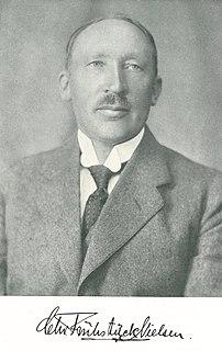 Christian Frühstück Nielsen Danish architect