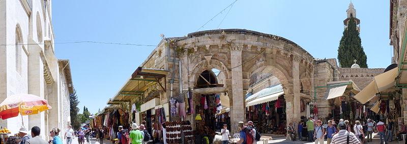 File:Christian Quarter, Jerusalem Panorama 2 (5905253517).jpg