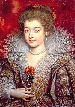 Christine of France (future Duchess of Savoy) by Frans Pourbus the younger.jpg