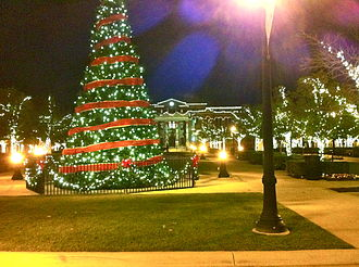 Southlake Town Square - Christmas Tree-Southlake Town Square