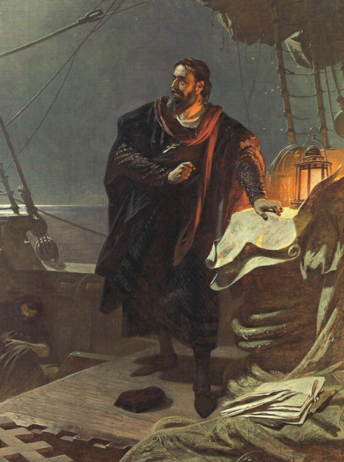 Christopher Columbus by Carl von Piloty