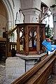 Church of St Andrew's, Boreham, Essex - pulpit.jpg
