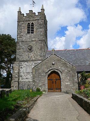 Church of St Tegfan, Llandegfan