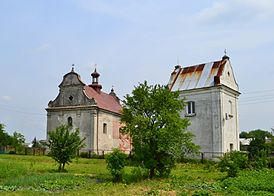 Church of the Holy Trinity in Lyuboml with bell tower 2.JPG