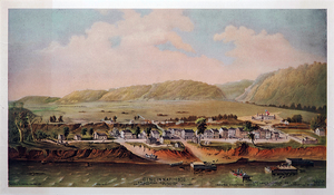 History of Cincinnati - Cincinnati in 1800.