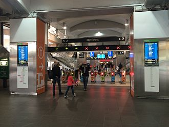 Circular Quay railway station - Image: Circular Quay Railway Station, North Entrance