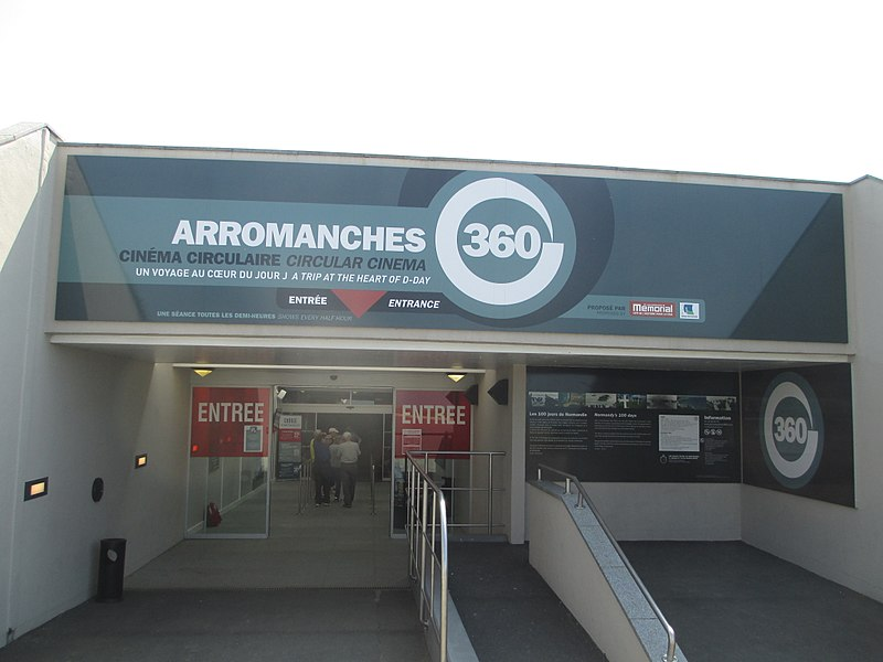File:Circular cinema in Arromanches-les-Bains (1).jpg