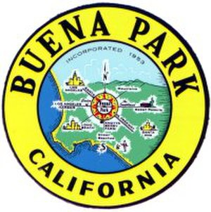 Buena Park, California - Image: City seal of the city of Buena Park, California