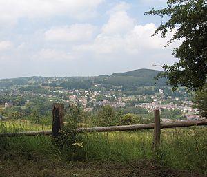 Stavelot - Image: Cityscape Stavelot