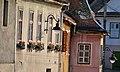 Cladiri din Centrul Vechi al Sibiului - detaliu.JPG