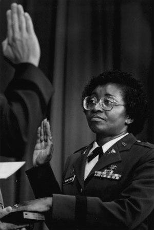 Clara Leach Adams-Ender - Brigadier General Clara Adams-Ender