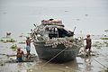 Clay Collection - Confluence - River Saraswati and River Hooghly - Sankrail - Howrah - 2013-08-11 1378.JPG