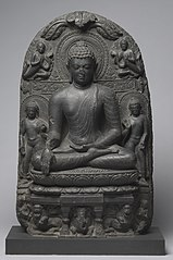 Buddha Calling on Earth to Witness