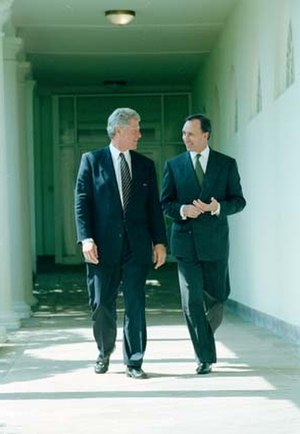 Paul Keating - Keating with President Bill Clinton (left) in 1993.