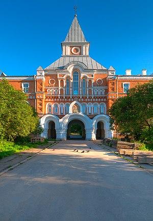 Coastal Monastery of Saint Sergius - Main entrance to the monastery