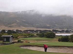 Golf in Australia - A golf course at Apollo Bay, Victoria