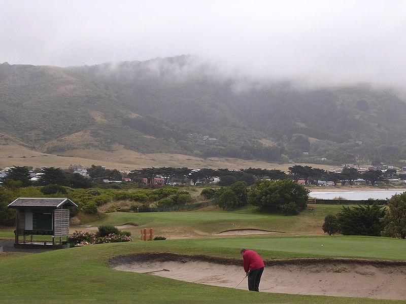 Golfing in Australia