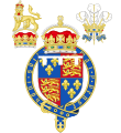 Coat of Arms of the Tudor Princes of Wales (1489-1574).svg