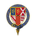 Coat of arms of Sir Gilbert Talbot, KG.png