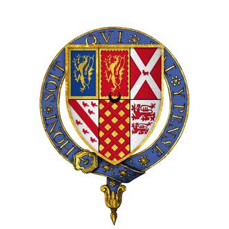 Gilbert Talbot (soldier) - Arms of Sir Gilbert Talbot, KG
