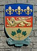 Coats of arms of Quebec, Confederation Garden Court, Victoria, British Columbia, Canada 20.jpg