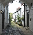 Cobbled mews Knutsford, off King Street - geograph.org.uk - 414726.jpg