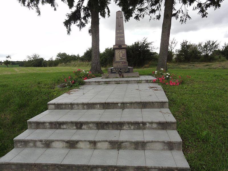 Coincourt (M-et-M) monument aux morts