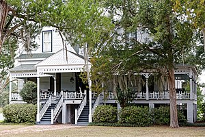 National Register of Historic Places listings in Allendale County, South Carolina - Image: Colding Walker House, Allendale County, SC, US