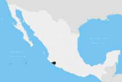 State of Colima within Mexico