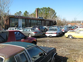 Collier Motors - The dealership as of February 2011