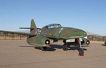 Collings Foundation's replica Me 262 B-1a, Marana, Arizona., 2013