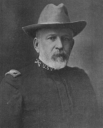 Melvin Grigsby - Frontispiece of 1900's Grigsby's Cowboys: Third United States Volunteer Cavalry, Spanish–American War.