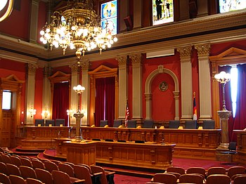 Old Supreme Court Chambers, Colorado State Cap...
