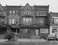 Casa de John Coltrane, na Filadélfia.