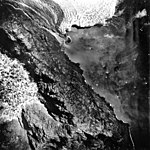 Columbia Glacier, Terminus and Distributary-Dammed Lake, September 1, 1978 (GLACIERS 1103).jpg