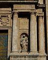 Columnes de la part dereta de la façana de sant Miquel dels Reis.JPG