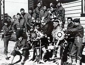 Comanche code-talkers of the 4th Signal Compan...