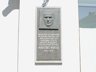 Mārtiņš Nukša Latvian diplomat and architect