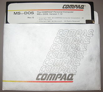IBM PC compatible - MS-DOS version 1.12 for Compaq Personal Computers