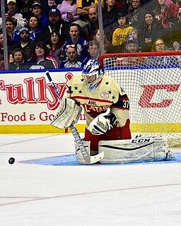 Eric Comrie Canadian ice hockey goaltender