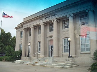 Concordia, Kansas - Concordia Post Office (2007)