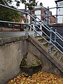 Concrete water table at the junction of Westwick Street and St Benedict's Street in Norwich.jpg