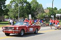 Congressman John Dingell 2011 Ypsilanti Independence Day Parade.JPG