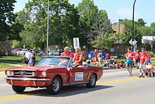 Congressman John Dingell 2011 Ypsilanti Independence Day Parade.JPG