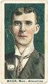 Connie Mack, Philadelphia Athletics, baseball card portrait LCCN2007683824.tif