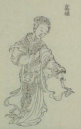 Consort Yu, concubine of Xiang Yu